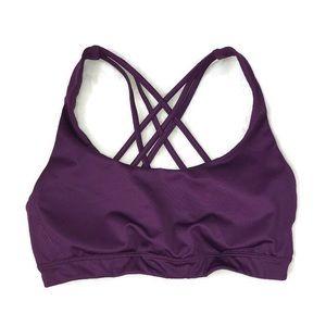 Victoria's Secret Sport Sports Bra Purple XS